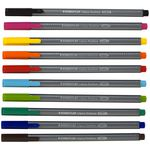 Staedtler Triplus Fineliner 334 Assorted 10 Pack