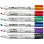 Staedtler Lumocolor 351 Whiteboard Marker Assorted 6 Pack