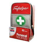 Trafalgar Personal First Aid Kit 62 Piece