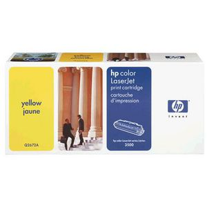 HP Q2672A Yellow Toner