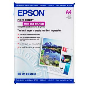 Epson 102gsm A4 Photo Paper Matte 100 Pack
