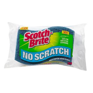 Scotch-Brite No Scratch Scrub Sponge 2 Pack
