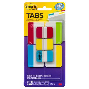3M Post-it Durable Tabs Value Pack