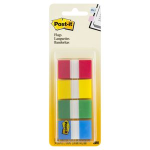 Post-it Flags Basics 4 Pack