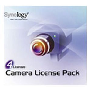 Synology Camera License For Synology 4 Pack