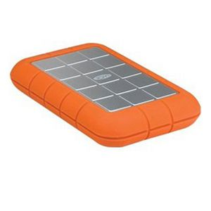LaCie Rugged Triple - Hard drive - 500 GB - external ( portable ) - FireWire 800