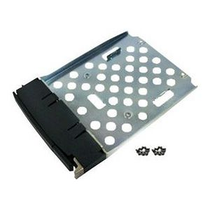 QNAP SP-SS-TRAY - Hard drive hot-plug tray - black  silver - for QNAP SS-439 Pro