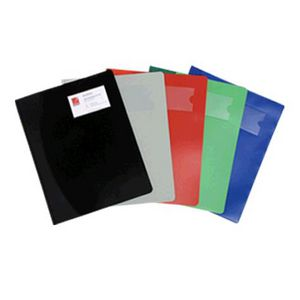 Marbig A4 Solid Cover File Black