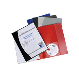 Marbig A4 Insert Cover File Red