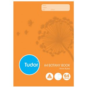 Tudor A4 Botany Book 14mm 64 Page