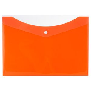 Bantex A4 Document Folder With Button Mango