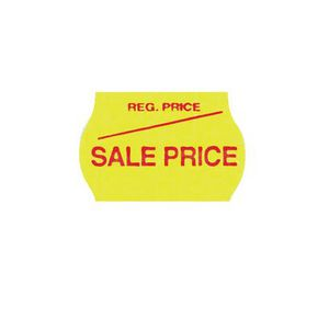 Meto 2 Line Series Labels Sale Price Yellow 10 Pack