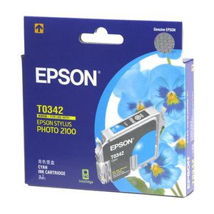 Epson T0342 Ink Cartridge Cyan