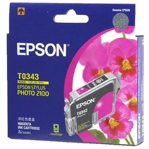 Epson T0343 Ink Cartridge Magenta