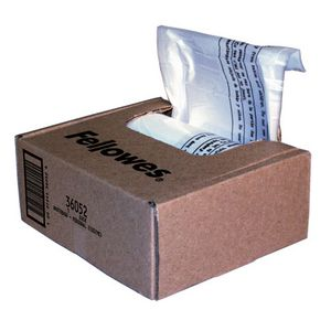 Fellowes 36052  38 L Shredder Waste Bags Box of 100