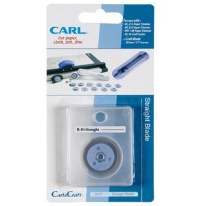 Carl B01 Straight Blade Replacement for Trimmer