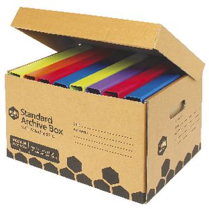Marbig Enviro Archive Box with Attached Lid 10 Pack