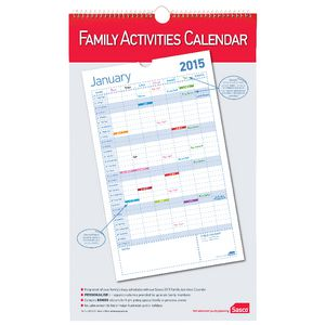 Sasco Family Planning Calendar 2015