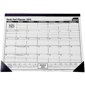 Sasco Desk Pad Planner 2015
