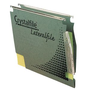 Crystalfile Lateral File Extra Capacity 25 Pack