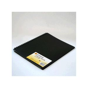 Marbig A4 40 Pocket Refillable Display Book Black