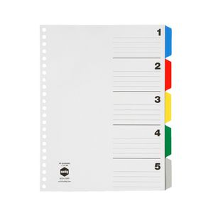 Marbig A4 Display Book 5 Tab Divider