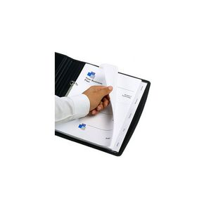 Marbig A4 Transparent Divider with 5 Tab View-Tab