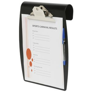 Marbig A4 Hang It Clipboard Black