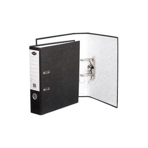 Marbig Lever Arch File Foolscap 2 Ring Board Black