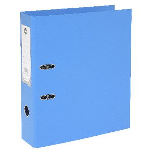 Marbig Foolscap 2 Ring Lever Arch File PVC Blue