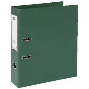 Marbig Foolscap 2 Ring Lever Arch File PVC Green