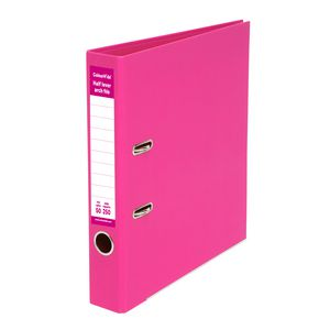 ColourHide Half Lever Arch A4 2 Ring PE Pink