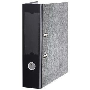 Marbig A4 Lever Arch File 2 Ring Black