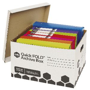 Marbig Quickfold Archive Box 10 Pack