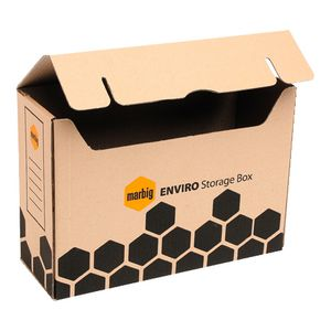 Marbig Enviro Flip Top Storage Box 20 Pack