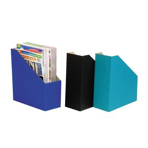 Marbig Magazine Holder Assorted 3 Pack
