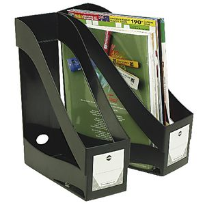 Marbig Enviro Magazine Holder Black