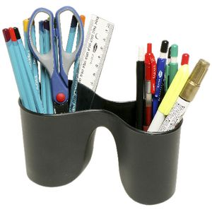 Marbig Enviro Duo Pencil Cup Black