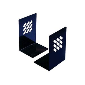 Metal Bookends 195mm - Black
