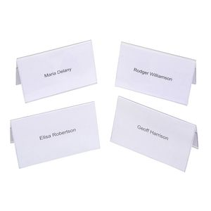 Rexel Name Plates 92 x 56mm 50 Pack