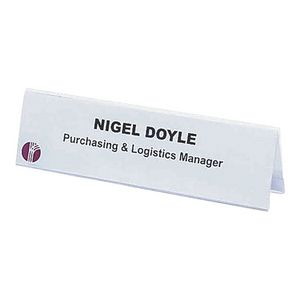 Rexel Name Plates 210 x 59mm 25 Pack