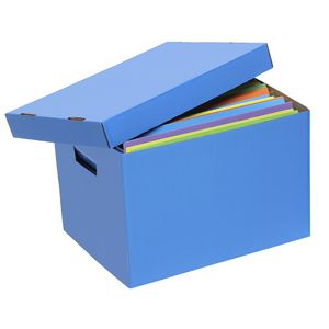 Marbig Coloured Archive Box Blue