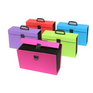 ColourHide My Trusty Expanding Carry File Assorted Colours