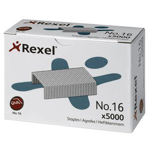Rexel No.16 (24/6) Staples, 5000 Pack
