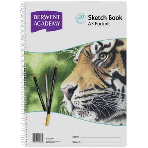 Derwent Academy A3 Sketch Book Portrait