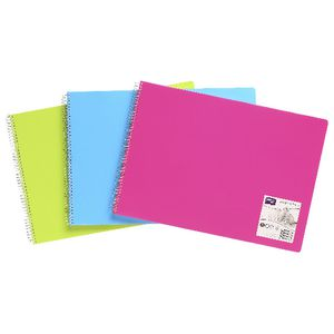 Derwent A3 Visual Art Diary Assorted Colours
