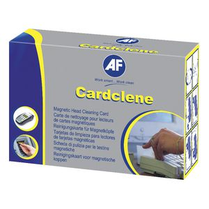 Cardclene Impregnated Plain Eftpos & Magnetic Swipe Reader Cleaning Cards Pk/20