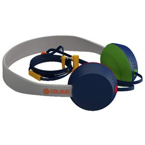 Coloud Knock Headphones Grey Blue