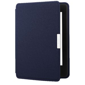 Kindle Paperwhite Leather Case Blue