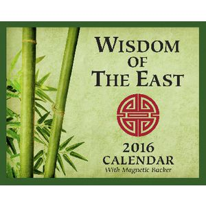 2016 Mini Day to Day Calendar Wisdom of the East